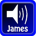 Talking Bible, James icon