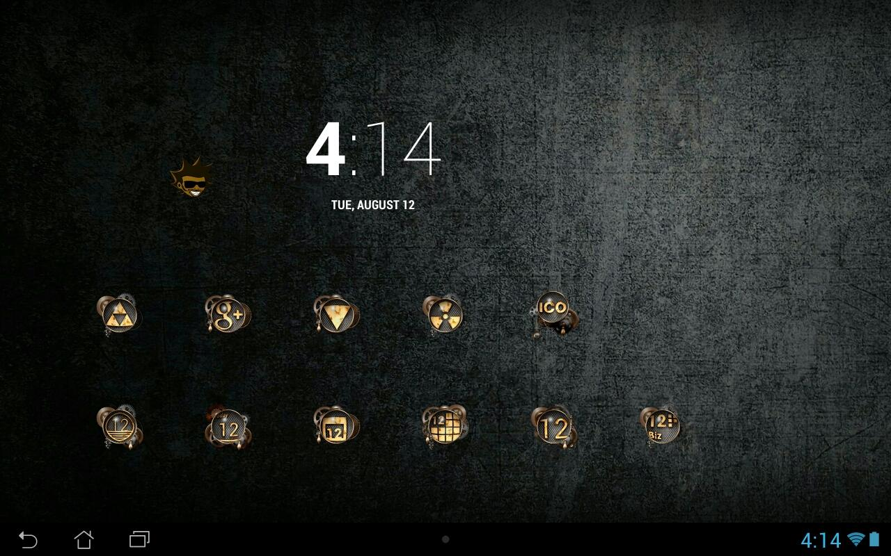 Tha Steampunk - Icon Pack Screenshot 2