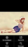 Screenshot of Pin Ups HD Wallpapers