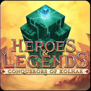 Cover art Heroes & Legends: Conq Kolhar