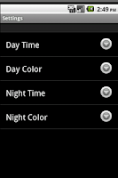 Screenshot of Toddler Clock