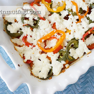 Baked Peppers With Cheese