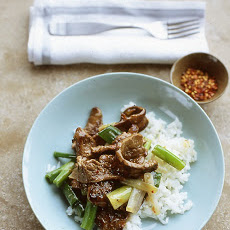 Beef and Scallion Stir-Fry