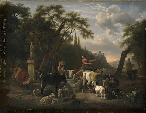 RIJKS: Jean Louis Demarne: painting 1810