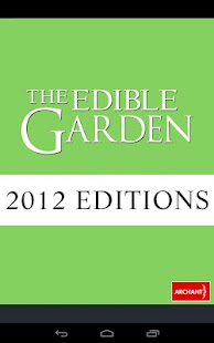 The Edible Garden 2012 - screenshot
