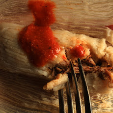 Pork Mole Tamales Recipe