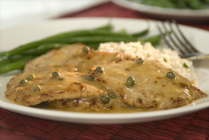 Veal Scaloppine With Lemon & Capers Recipe | Yummly