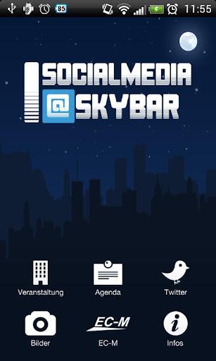 SocialMedia Skybar