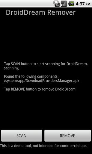DroidDream Remover
