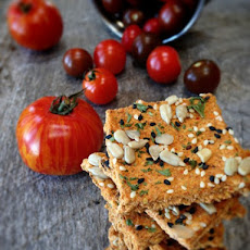 Raw Thin Crust Pizza Crackers