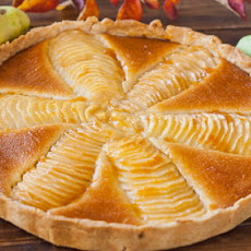 Pear and Almond Cream Tart