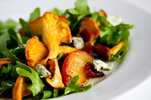 Nectarine And Blue Cheese Salad With Plum Vinaigrette Recipes ...