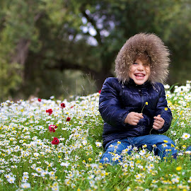 The joy of spring by Aydın Kurhan - Babies & Children Children Candids