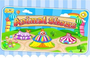 Screenshot of Animal shows by BabyBus