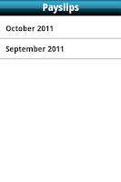Screenshot of Monthender