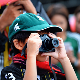 I'm a Photographer Too by Ferdinand Ludo - Babies & Children Child Portraits ( snapping pictures, david, sinulog 2015, kid )