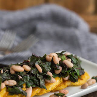Polenta with Swiss Chard and White Beans