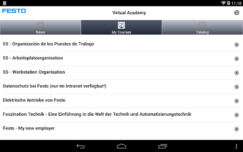 Festo Virtual Academy - screenshot