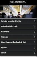 Screenshot of Flight Attendant Prep & Quiz