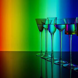 Murano Glass #3 by Richard Saxon - Artistic Objects Glass ( murano island, january, 2015, stil life, hand-blown glass, italy )