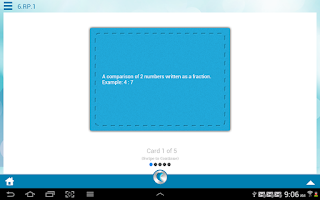 Screenshot of 6th Grade Common Core Math