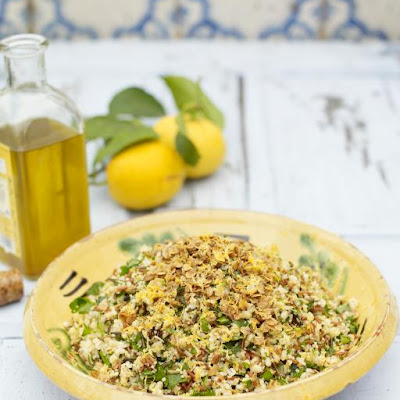 Summer Four-grain Salad With Garlic, Lemon & Herbs