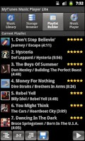 Screenshot of MyTunes Music Player Lite