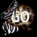 GO SMS - Zebra Leopard Heels icon