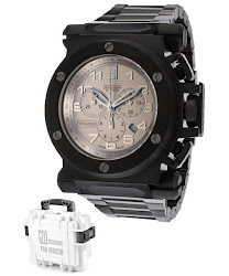 Invicta Men's Jason Taylor Chronograph Gray Dial Black Ion Plated Stainless Steel INVICTA-14513BWB Watch
