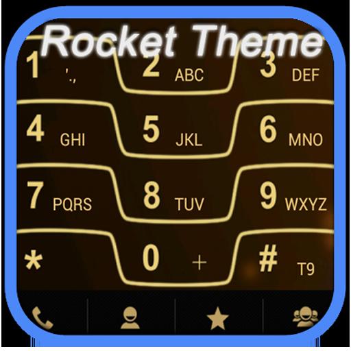 RocketDial Razr Gold Theme LOGO-APP點子
