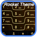 RocketDial Razr Gold Theme icon
