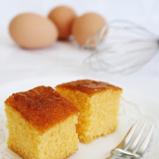 One-bowl Custard Cake