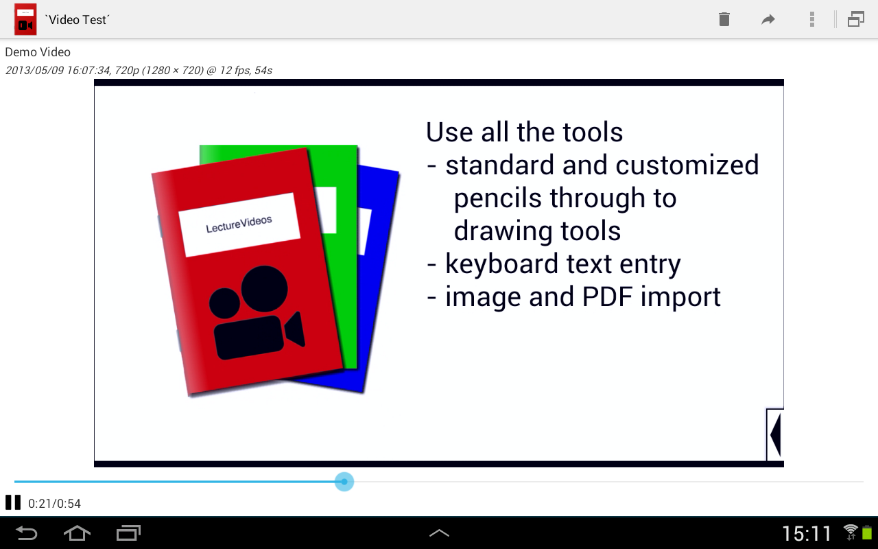 LectureVideos Screenshot 1
