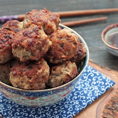 Pork Shumai Meatballs (Low Carb and Gluten Free)