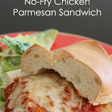 No-Fry Chicken Parmesan Sandwich