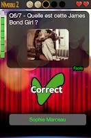 Screenshot of Ciné Quizz