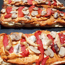 French Bread Pizza (vegetarian)