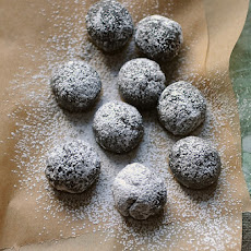 Fudgy Bourbon Balls