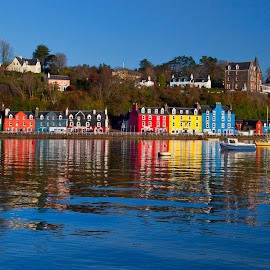 Tobermory by Ian Pinn - Buildings & Architecture Homes ( colour, scotland, harbour, sea, mull, pretty, colorful, mood factory, vibrant, happiness, January, moods, emotions, inspiration )