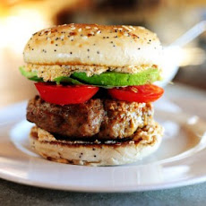 Turkey Bagel Burgers