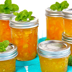 Meyer Lemon, Orange and Fresh Ginger Marmalade