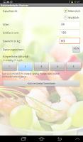 Screenshot of Ernährung Pro