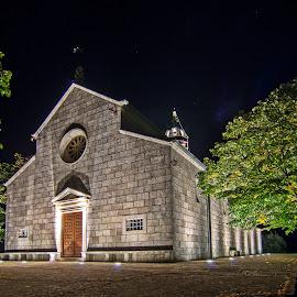 Church by Zoran Rudec - Buildings & Architecture Public & Historical ( church, night photography )