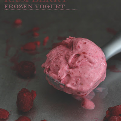 Instant Raspberry Frozen Yogurt