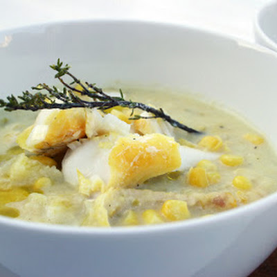 Smoked Haddock And Sweetcorn Chowder