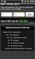 Screenshot of BMI Calculator (free)
