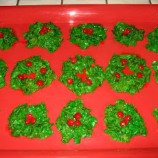 Christmas Holly Treats