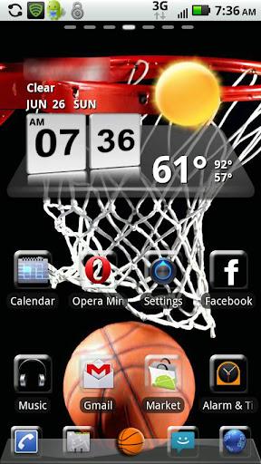 Basketball GO Launcher Theme