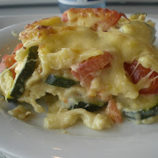 Cheesy Winter Vegetables Casserole