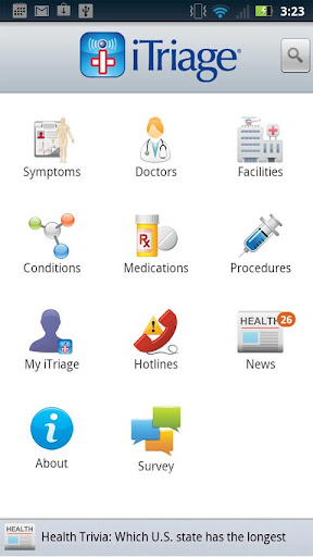 itriage-health for android screenshot